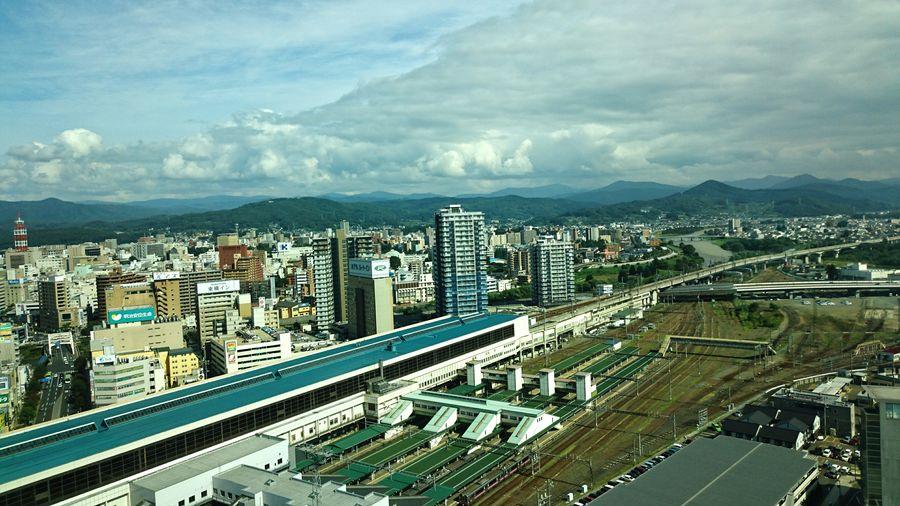 盛岡駅 Moriokastation 雲 Cloud - Sky City