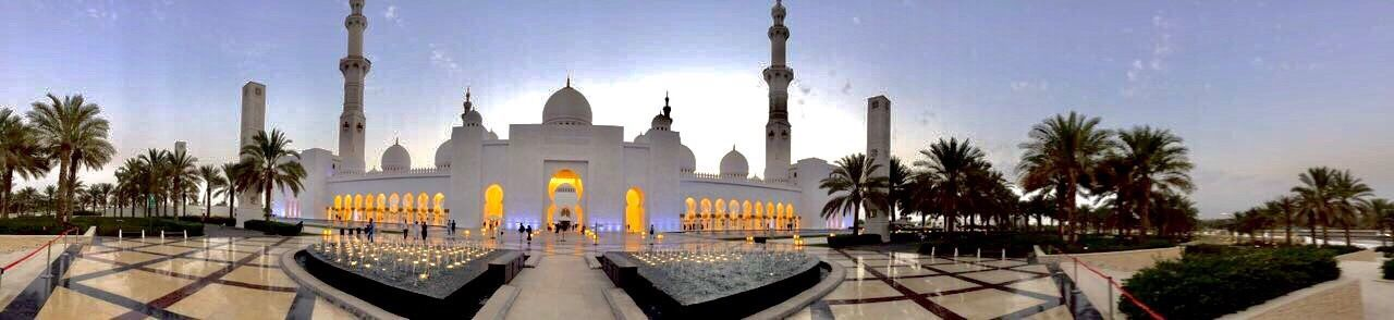 Abu Dhabi United Arab Emirates Mosque Architecture Amazing