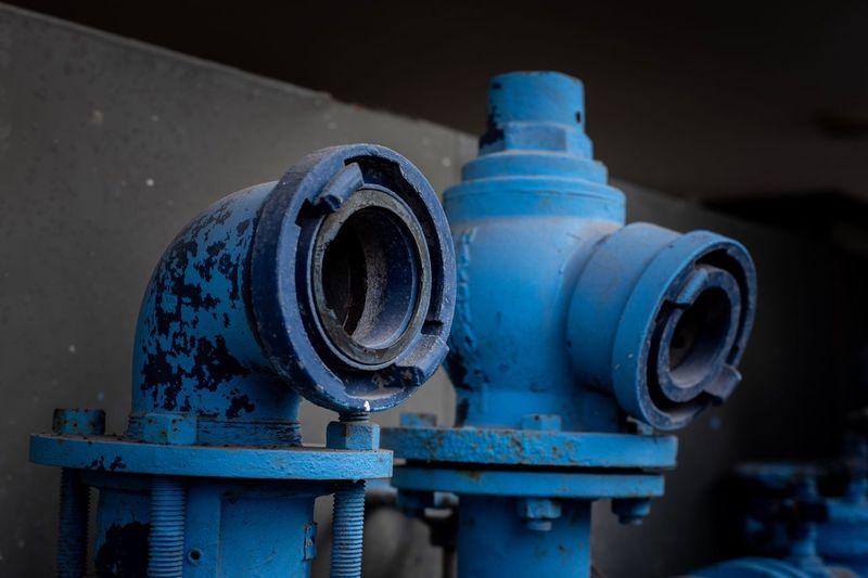 Blue hydrant,