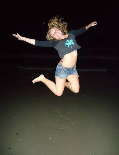 Jump! ❤ Hi! That's Me Beach Life Hello World