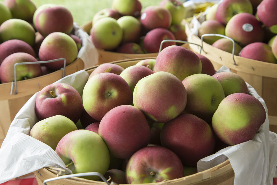 Apples Bushel Baskets Fresh Fruit Healthy Eating Heart Health Everything In Its Place