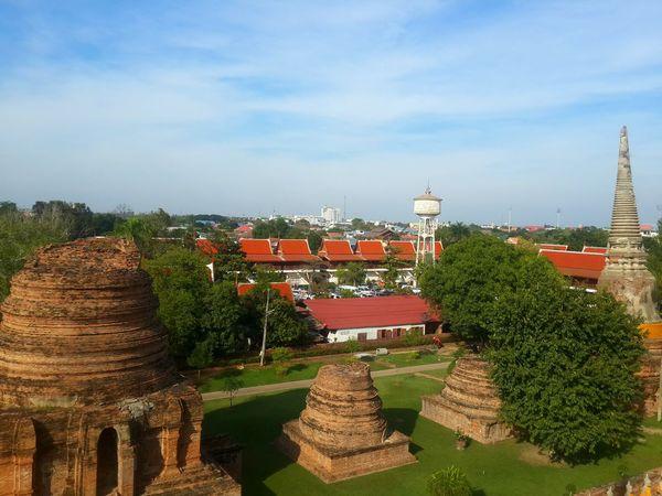 At Ayutthaya Traveling In Thailand BP
