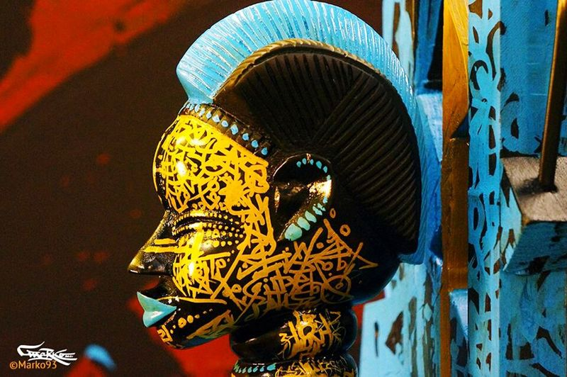 Grafitti Marko93 Calligraffiti Calligraphy Calligraphie Calligraphy_look Sculpture Africa Benin Gold