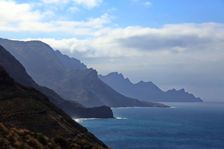 Puerto de las nieves on gran canaria