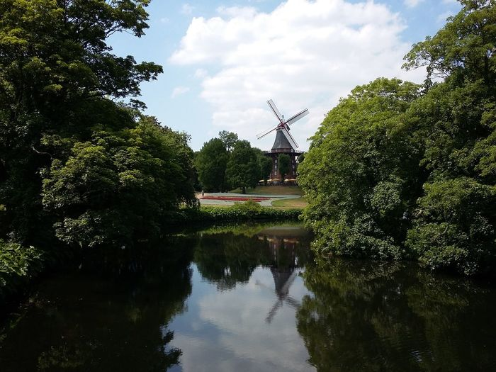 Mühle Am Wall, Bremen. · Germany Kaffeemühle Herdentorswallmühle Mill Windmill Park Trees Green Beautiful Day Urban Landscape The Purist (no Edit, No Filter)
