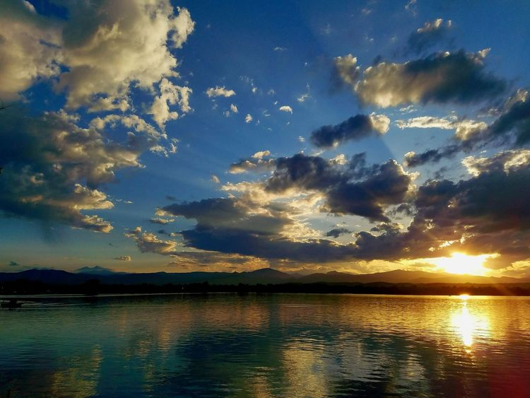 Loveland Colorado Sunset Nature Amazing View Cloud Formations Beautifulday NatureIsBeautiful Skies Blue Wave Northern Colorado Reflections Awesome NaturalBeauty The Essence Of Summer
