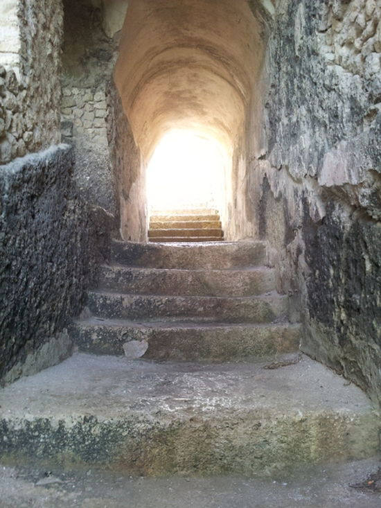 Stairway to Heaven :D Exploring Architecture Enjoying Life Stairs Light Rocks Formia Arch The Tourist