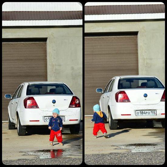 Так, пока батя не видит, надо угнать тачку While his father does not see, it is necessary to steal a car сын  Миша совершает угон Sonny Michael Russian Boy Boss Gangsta Car