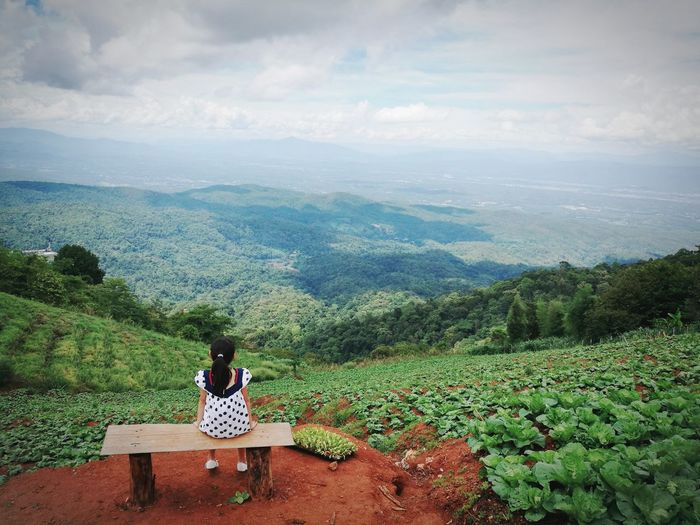 Check This Out Cheese! Relaxing Chiang Mai | Thailand Mon Jam Hello World Enjoying Life Sky And Clouds Girl Daughter Daughterlove EyeEm Thailand Chiangmai