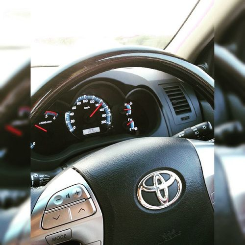 Realsuv Toyota Fortuner 4wheeldrive awesomeday 145kmph fun expressway