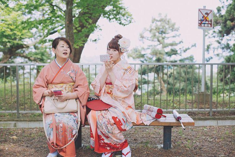 2016:0612 前撮り。不意打ちくらった。 Kimono Women Mother Cultures Japanese Culture 20anniversary Love Pink Masamune Date Japan Sendai