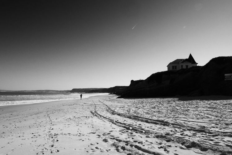 #PenichePortugal #portugal #travel Architecture Beach Clear Sky Outdoors Sand Scenics - Nature Sea Tranquility