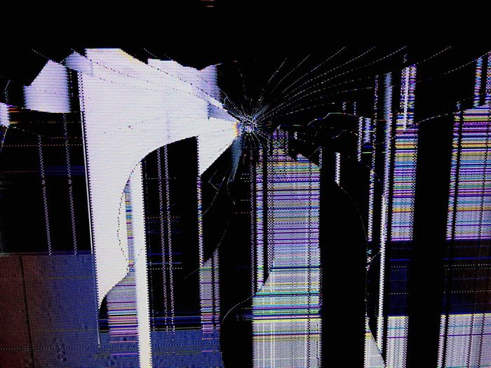 Technology glitch No People Technology Broken Television Lines And Shapes Contrast