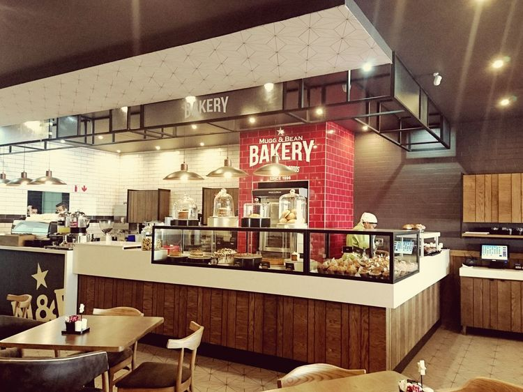 Restaurant Indoors  Store Cafe Bar - Drink Establishment Architecture Modern Day Bakery Bakery Cafe Interior Interior Views Since 1996