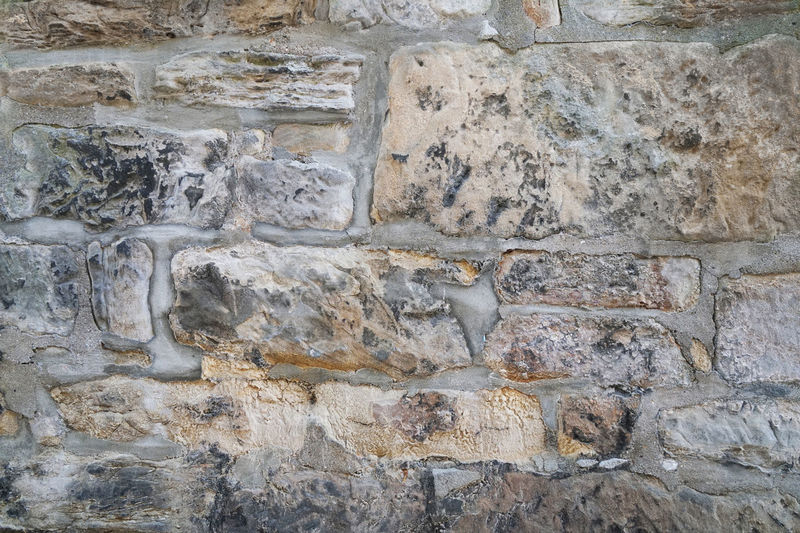 Copy Space Weathered Architecture Background Backgrounds Close-up Full Frame Old Rough Stone Wall Textured  Wall Wall - Building Feature