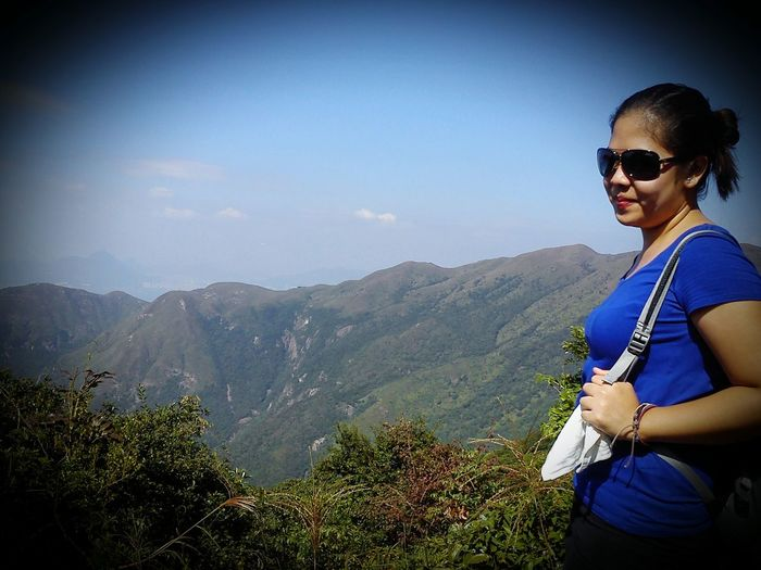 Hi! Eyeemates! Real experience's with my Friends,hike to the 2nd Highest mountain in Hongkong our Holiday in short Free Day! Mountains Mountain View EyeEm Nature Lover Nature_collection Naturetrails That's Me! Taking Photos Hanging Out Enjoyingtime 😘👌