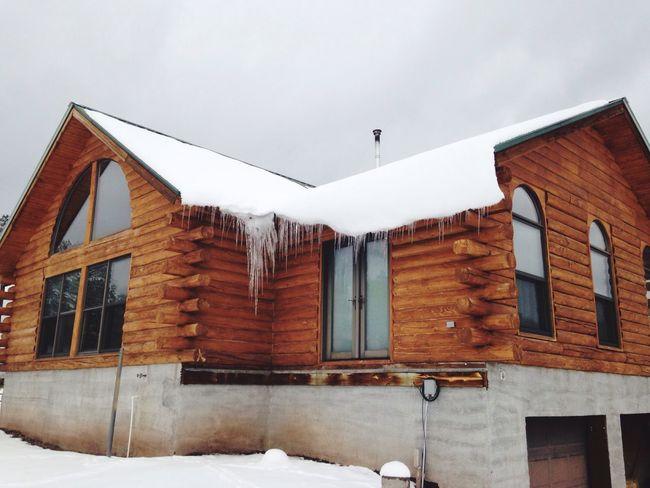 Jemez New Mexico Winter Cabin