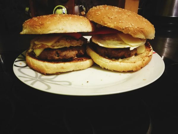 Homemade Home Made Food Food Food And Drink Bread Bun Unhealthy Eating Fast Food Hamburger