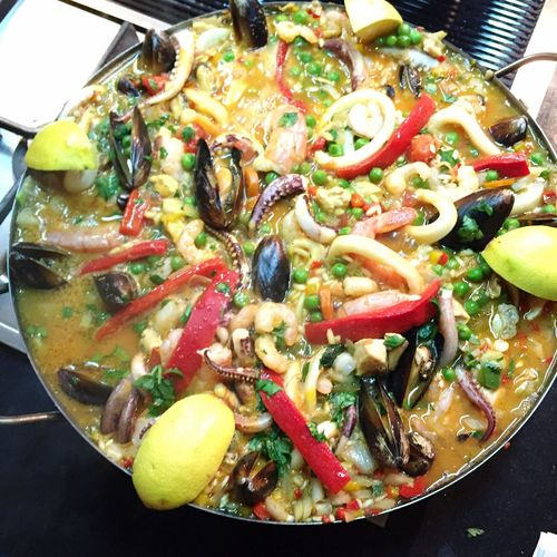PaellaValenciana Paella De Marisco Paellas Buenos Aires