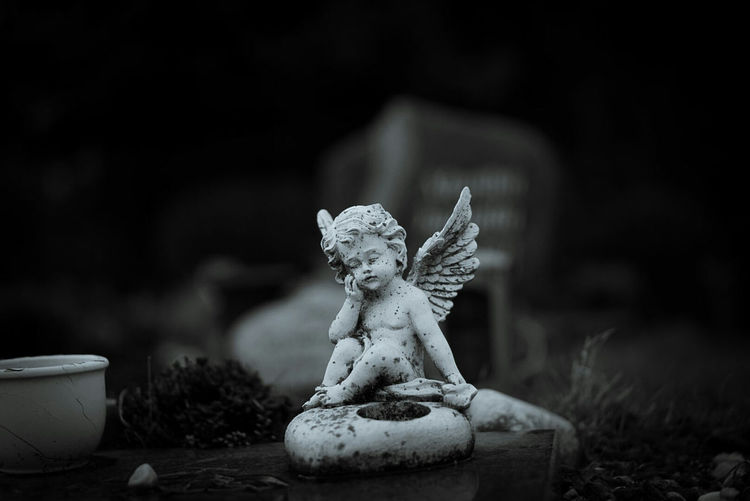 many years without you Grave Graveyard Cemetery Angel Statue Memories Of You Lucky's Monochrome Showcase March Shallow Depth Of Field NEM Memories Portrait Sadness Alone Artistic Photo Mood Perspective Monochrome The Great Outdoors With Adobe Details Black & White Black And White EyeEm Best Shots EyeEm Gallery The Great Outdoors - 2016 EyeEm Awards Eye4photography