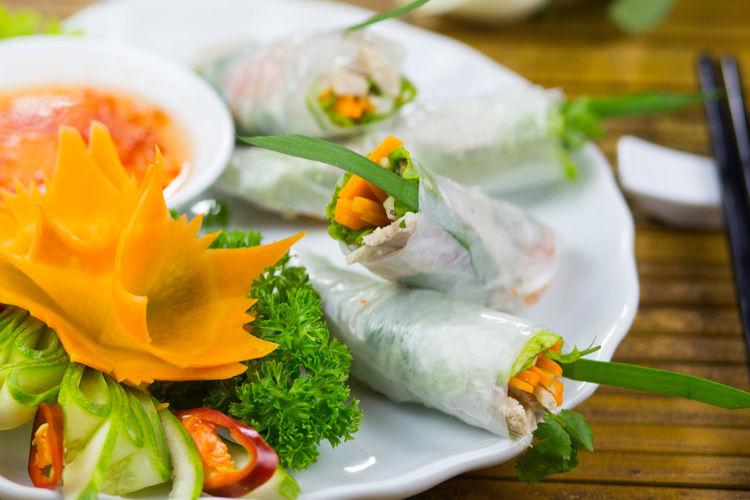 Asia Food Beverage Food Food And Drink Restaurant Spring Rolls Vietnamese Food
