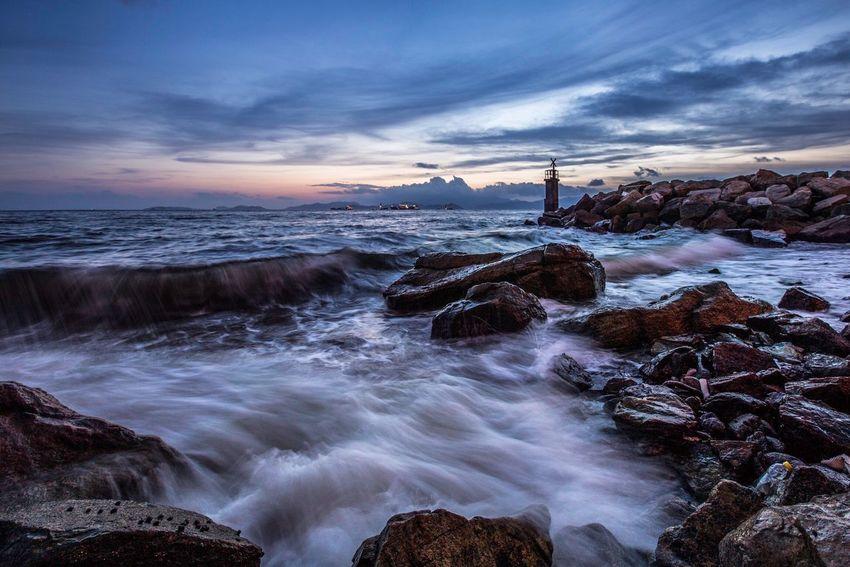 Photography Night HongKong Sunset
