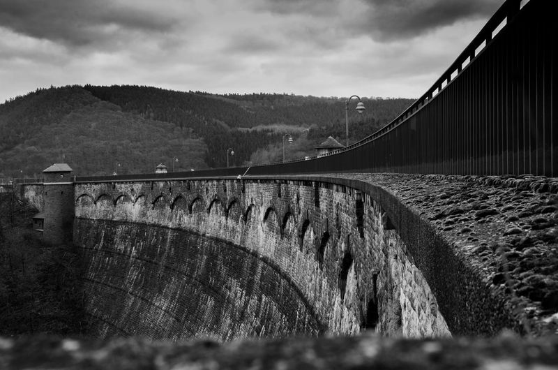 Eifel Germany Architecture Blackandwhite Built Structure Cloud - Sky Dam Day Eifel Hydroelectric Power Nature Outdoors River Sky Urftsee Water