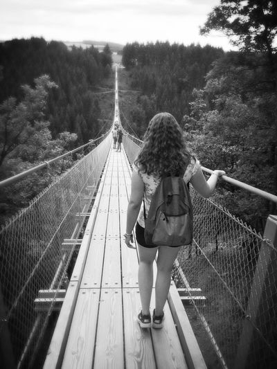 Bridge Germany Nature Woods Walk Hello World Hunsrück Brave High View View From Above Fun Girl That's Me Hi! Fotooftheday Picoftheday Moments
