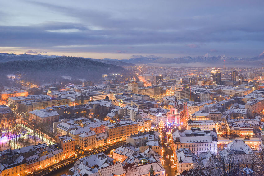Blue Hour City EyeEm EyeEm Best Shots Ljubljana Ljubljana, Slovenia Slovenia Snow ❄ Winter Winterscapes Wintertime Architecture Best Shots Building Exterior Built Structure Chain Bridge City Cityscape Cloud - Sky Day High Angle View Illuminated Ljubljana Castle Ljubljanacity Ljubljanamoments No People Outdoors Residential Building Residential District Sky Slovenija Snow Snowing Travel Destinations Tree Winter Wonderland Shades Of Winter Mobility In Mega Cities Go Higher The Great Outdoors - 2018 EyeEm Awards The Traveler - 2018 EyeEm Awards