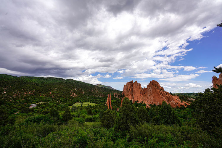 Garden of the Gods Mountain Sky Beauty In Nature Cloud - Sky Scenics - Nature Tranquility Tranquil Scene Non-urban Scene Nature Environment Garden Of The Gods Garden Of The Gods Colorado Springs Garden Of The Gods Colorado Hike Hiking Hikingadventures Colorado Outdoor Photography Landscape_photography Landscape Red Rocks