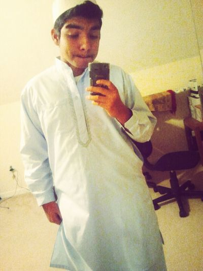 Muslim Boy With A Dimple