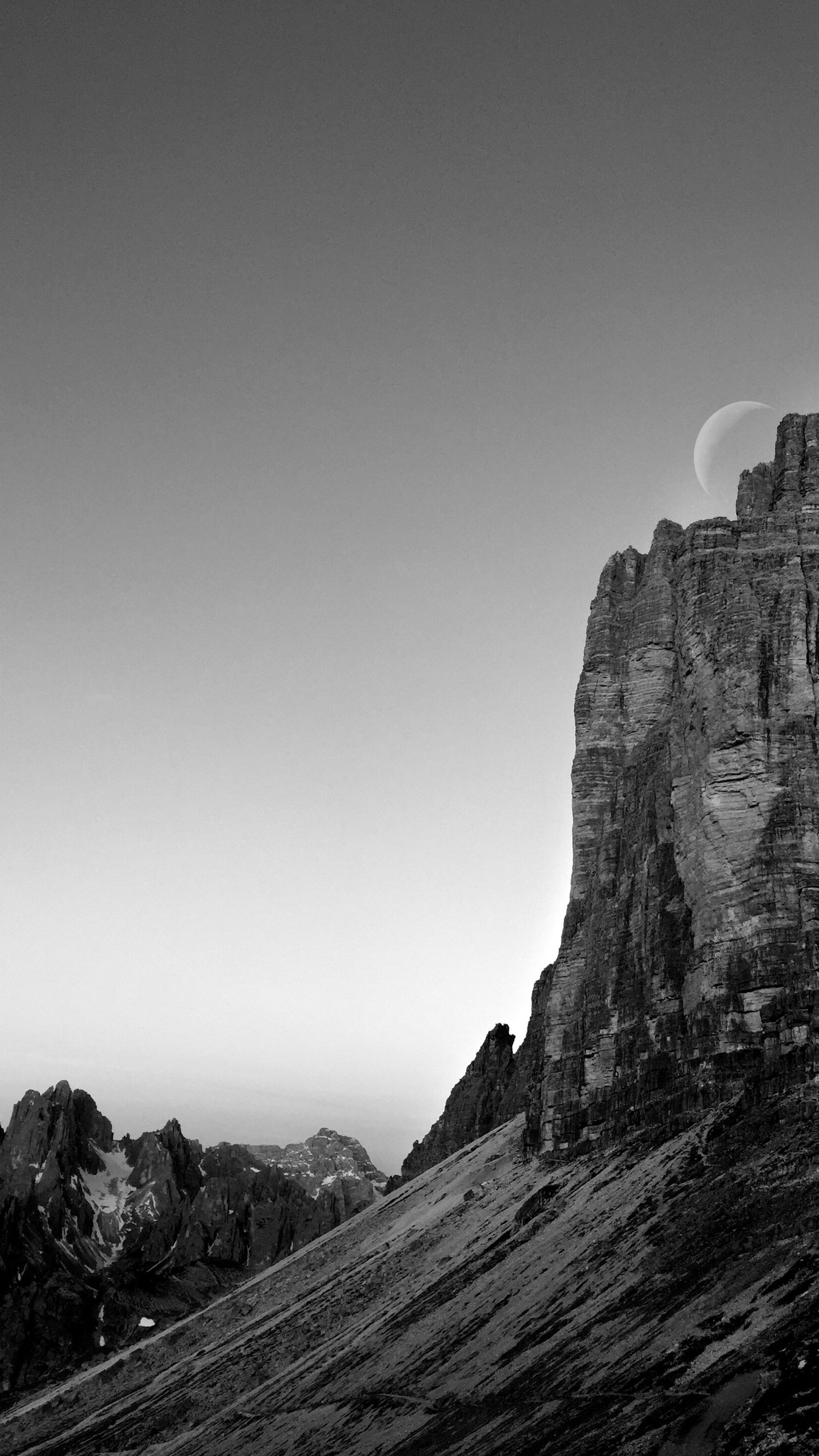 sky, rock, copy space, rock formation, clear sky, rock - object, mountain, solid, beauty in nature, nature, scenics - nature, day, tranquility, no people, tranquil scene, environment, cliff, geology, landscape, land, outdoors, formation, eroded, mountain peak