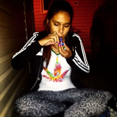 Its my life I'll smoke weed if I want to. ???