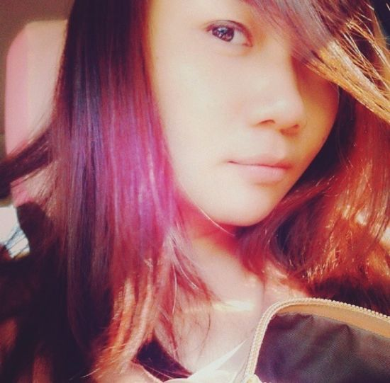 Today Hot Look  Self Portrait Model New Hair Color :)