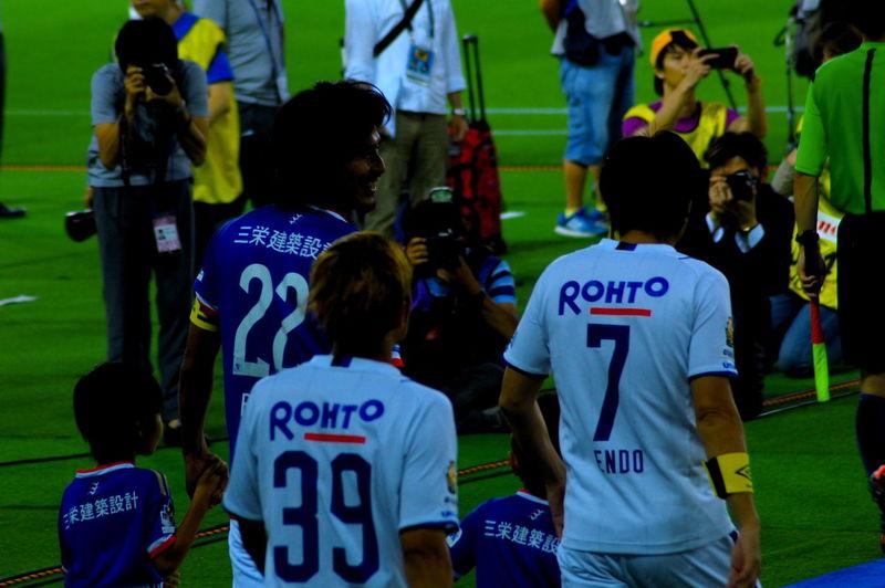 Jleague Gamba OSAKA Endo Soccer