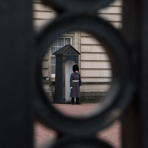 Architecture British Buckingham Palace Guard Honor Guard One Person Real People