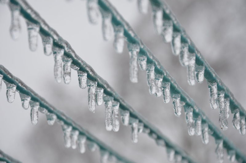 Low Angle View Of Icicle