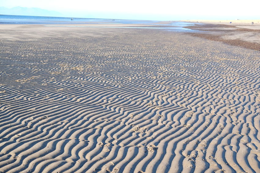 Beautiful beach walk, on a perfect Winter's day, from Prestwich to Troon Beach Beauty In Nature Day Landscape Nature No People Outdoors Pattern Sand Sand Dune Sand Patterns Scenics Sea Sky Tranquil Scene Tranquility Water EyEmNewHere