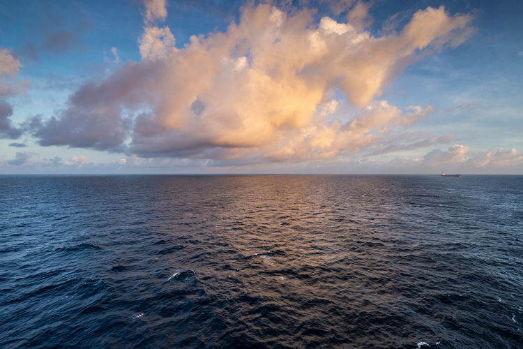 Clouds Blue Cloud - Sky Horizon Horizon Over Water Nature Scenics - Nature Sea Seascape Sky Water