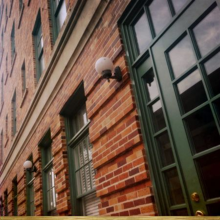 Brick & trim. Architecture Building Exterior Low Angle View Day Architectural Feature No People City Life