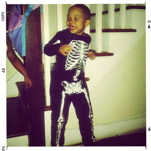My Lil Skeleton<3