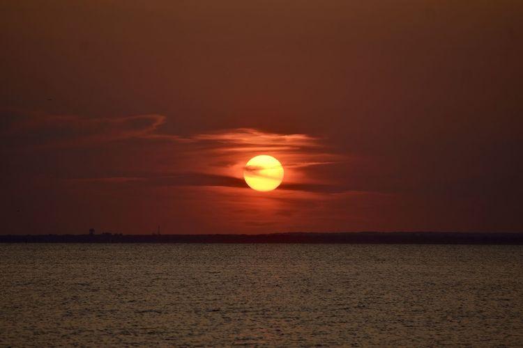 Dusk Red Sunset
