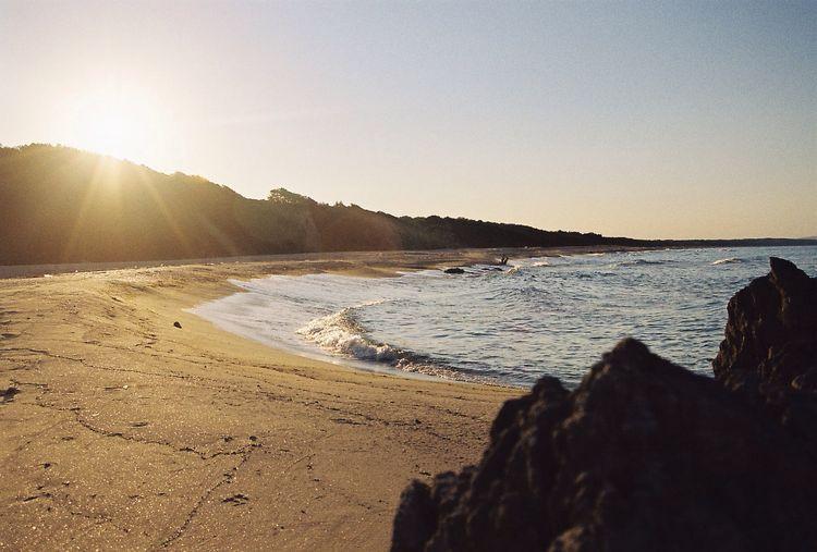 Calm down. Beach Sunset Keep Calm Sea