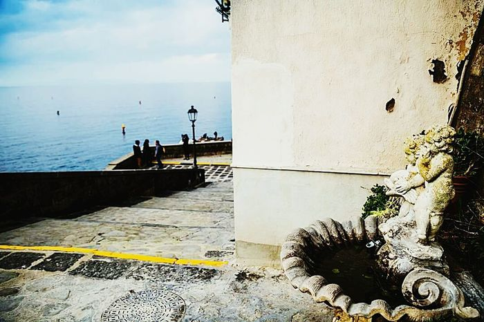Sorrento Napoli ❤ Silhouette Water Sky Sea Outdoors Nature Day Beauty In Nature No People