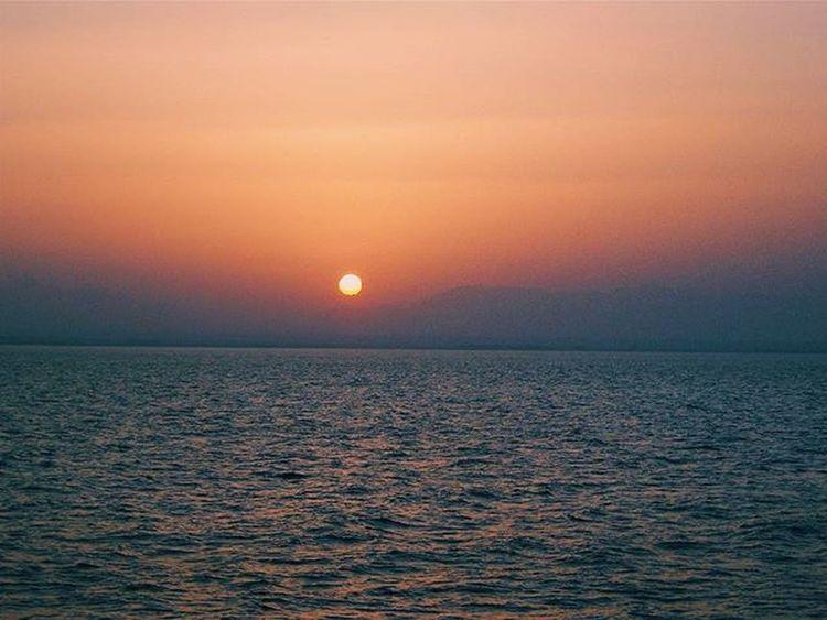 Sunset Sun Beauty In Nature Idyllic Sea Water Atmosphere Nature Waterfront Majestic Seascape Dramatic Sky Egypt Hurghada 🌞 Vscogram Vscocam Vscogood VSCO Traveltime Traveling Outdoors Day Sky Relax Wonderful