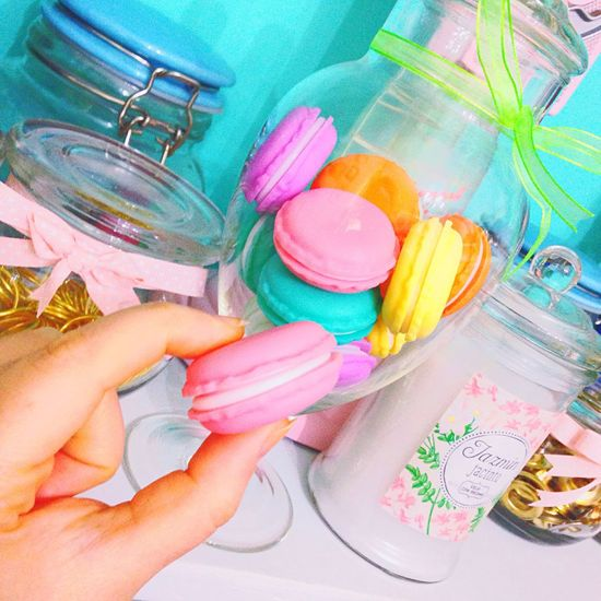 ⚜🦄🍦Loving my new fake macarons💖🍦⚜ Macarons Cabochons  Sweet Cute Decoration Baroque Rococo Neobaroque Fluo  Lifestyle Candyshop Patisserie First Eyeem Photo Eye4photography
