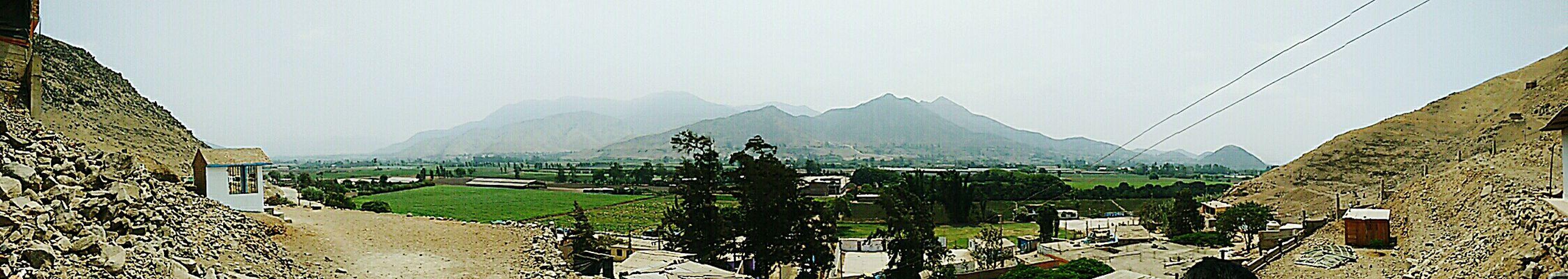Una mañana por Pachacamac.