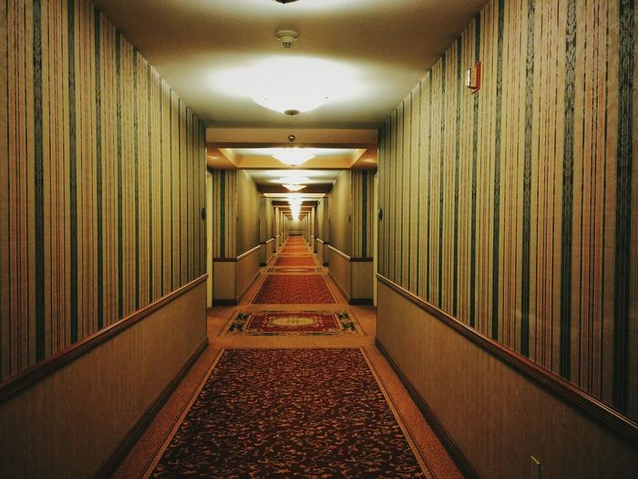 Vanishing Point Hotel Hallway Viva Lasvegas NewYear2015
