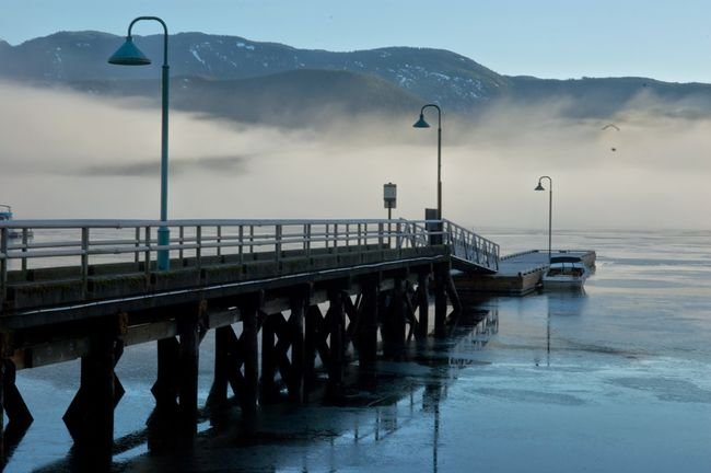 Architecture Beauty In Nature Bridge - Man Made Structure Built Structure Connection Deep Cove Mountain Mountain Range Nature Pier Railing Reflection Scenics Sea Sky Tranquil Scene Tranquility Transportation Water Waterfront