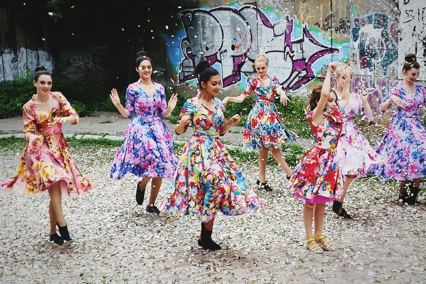 DANCE ♥ Girls Rainbow Colors Ukraine Kharkiv